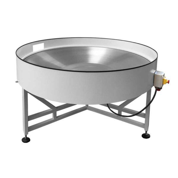 Tavolo rotante concavo con sponda