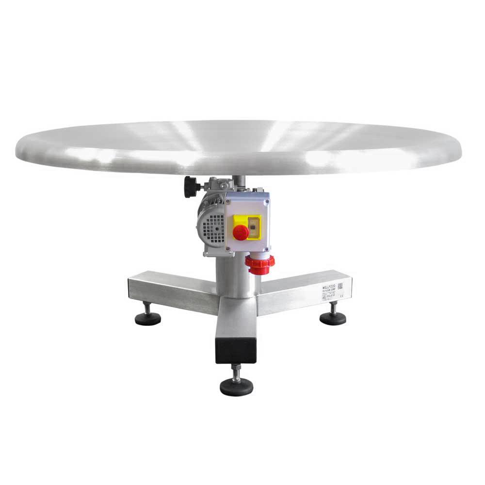 Tavolo rotante concavo 1200 ha la particolarit di - Meccanismo rotante per tavolo ...