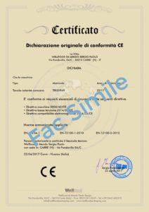 certificato ce wellfood