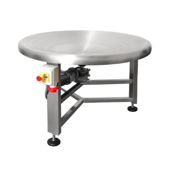 Tavolo rotante concavo prodotti pesanti