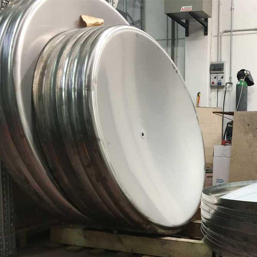 Producción en serie de mesas giratorias
