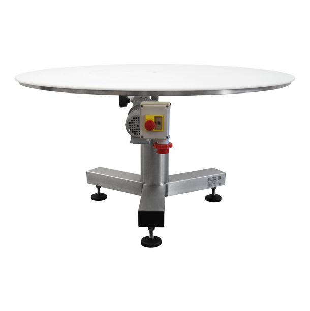 Mesa giratoria de polietileno